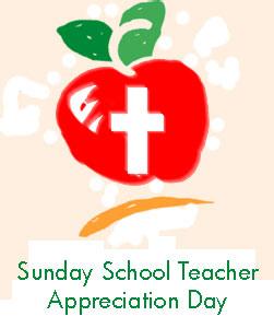 Sunday School Teacher Appreciation